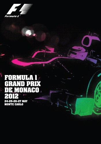Poster GP. F1 Mónaco 2012