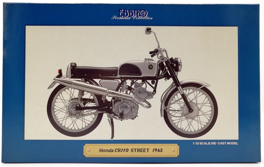 Honda CR110 Street (1962) Ebbro 10004 1/10