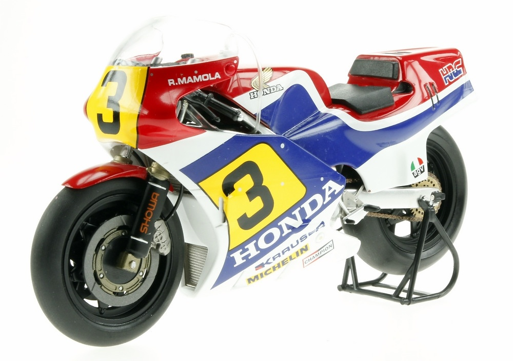 Honda NSR500 nº 3 Randy Mamola (1984) Altaya MC12 1/12