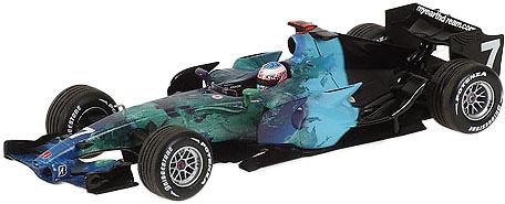 Honda RA107 nº 7 Jenson Button (2007) Minichamps 400070007 1/43