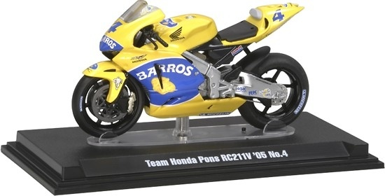 Honda RC211V nº 4 Alex Barros (2005) Tamiya 26804 1/24