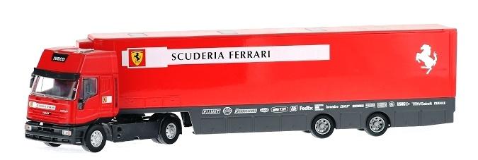 Iveco LD Transporte Oficial Ferrari (2000) Old Cars 1/43
