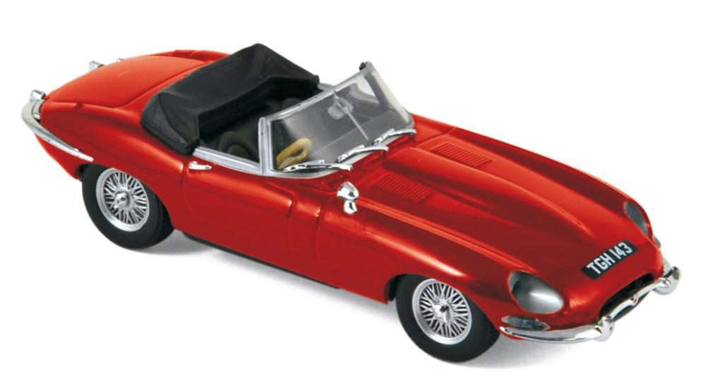 Jaguar E-Type Cabriolet (1961) Norev 270062 1:43