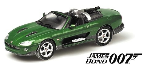 Jaguar XKR James Bond Minichamps 400130230 1/43