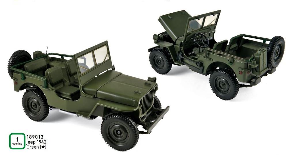 Jeep (1942) Norev 189013 1:18