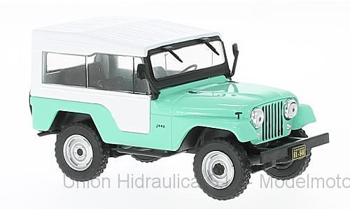 Jeep CJ-5 (1963) White Box 1963 WB234 1/43
