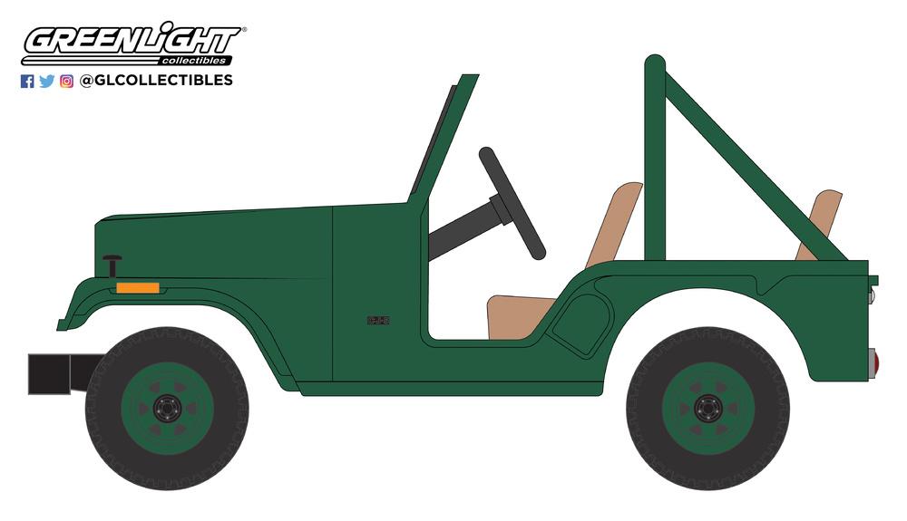 Jeep CJ-5 (1974) Greenlight 37140D 1/64