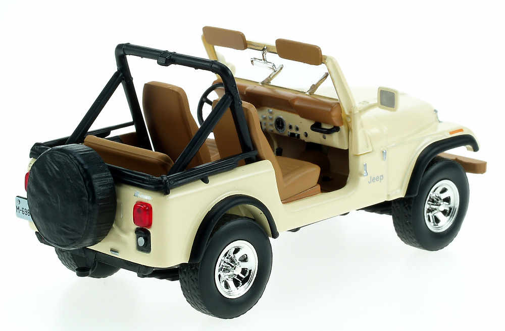 Jeep CJ-7 Laredo (1982) White Box WBS0001 1/43