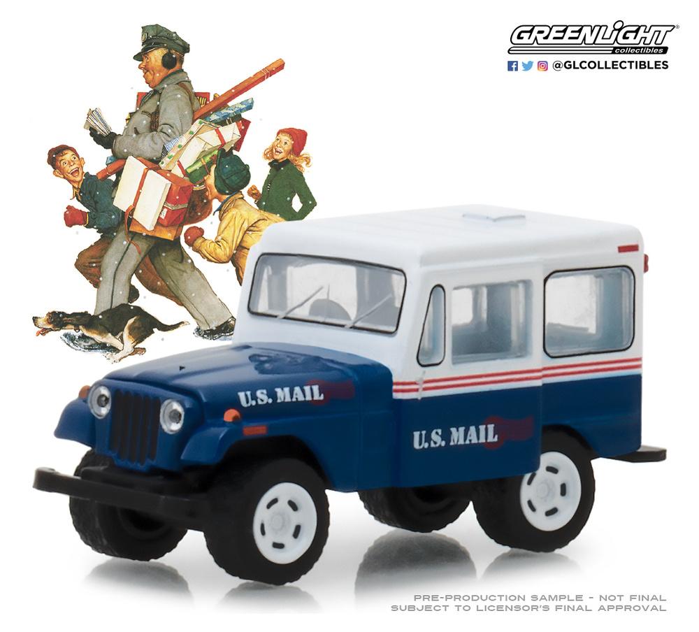 Jeep DJ-5 U.S. MAIL (1971) Greenlight 1/64
