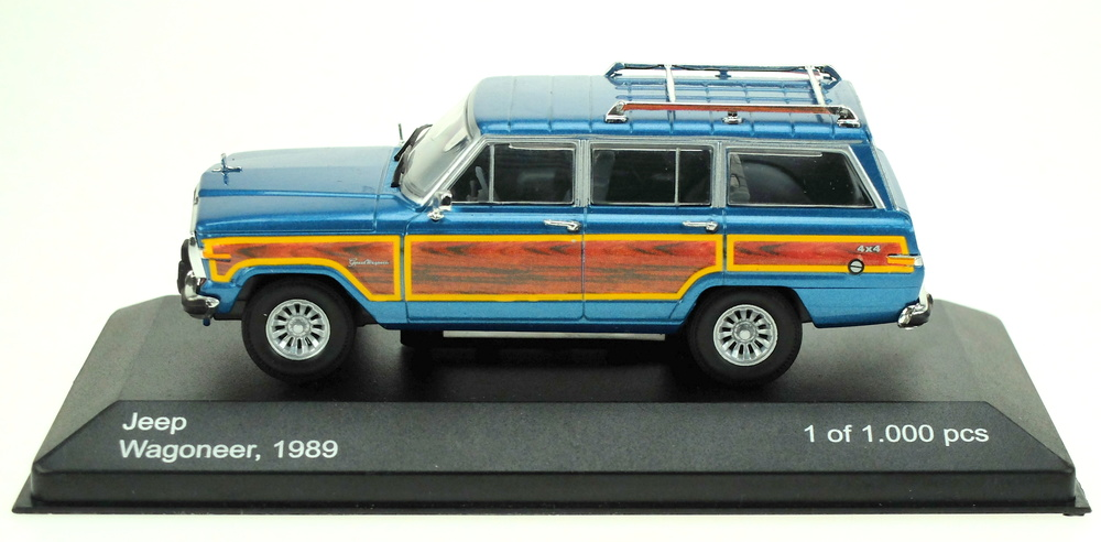 Jeep Grand Wagonner (1984) White Box WB162 1:43