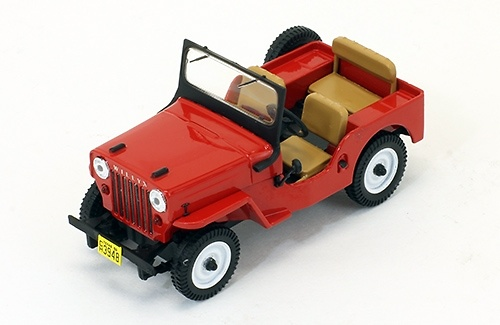 Jeep Willys CJ3B (1953) PremiumX PRD365 1:43