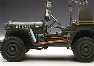 Jeep Willys con remolque (1945) Autoart 74016 1:18