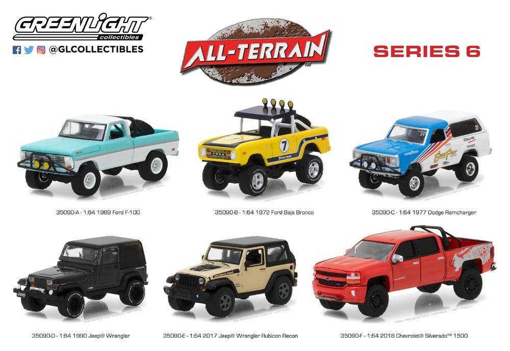 All Terrarin Serie 6 Greenlight 1/64