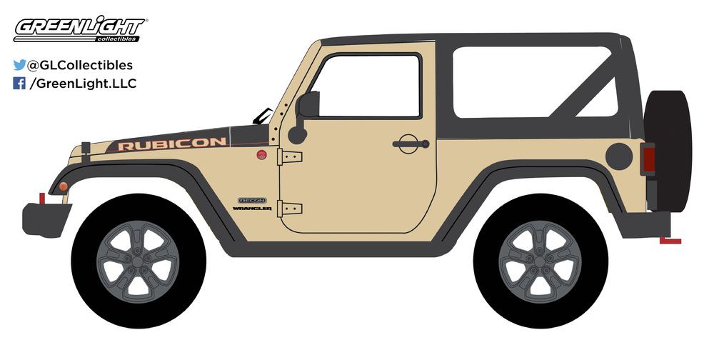 Jeep Wrangler Rubicon Recon (2017) Greenlight 35090E 1/64