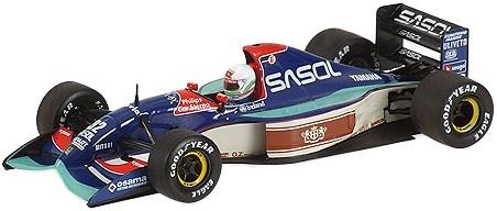 Jordan 192 nº 32 Stefano Modena (1992) Minichamps 400920032 1/43