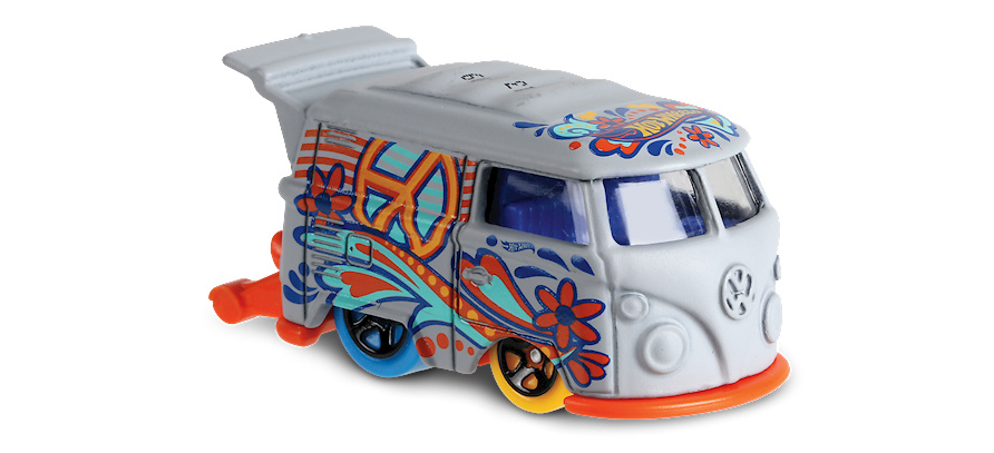 Kool Kombi -Art Cars- (2018) Hot Wheels FJW77 1/64
