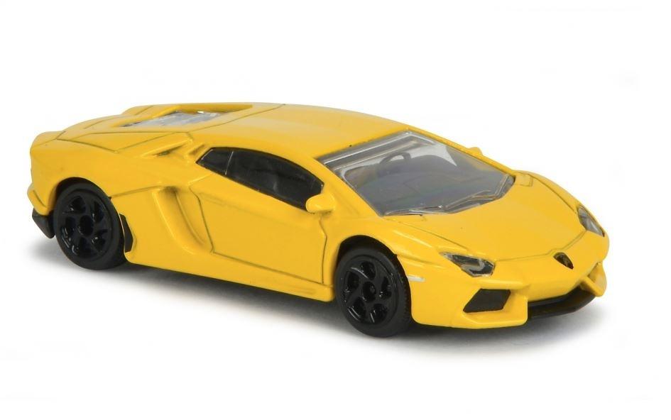 400 Majorette ® escala 1:64 Lamborghini Aventador amarillo nuevo sin OVP