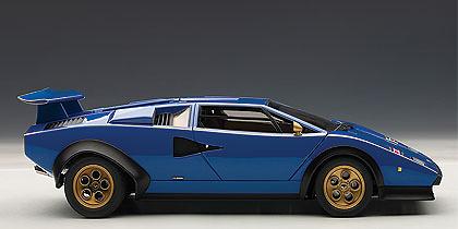 Lamborghini Countach LP500S Walter Wolf Edition (1974) Autoart 74652 1:18