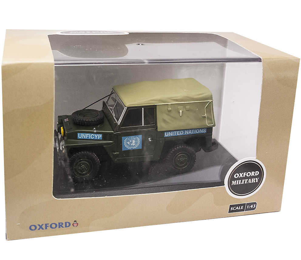 Land Rover 1/2 Ton Lightweight United Nations (1968) Oxford 43LRL001 1/43