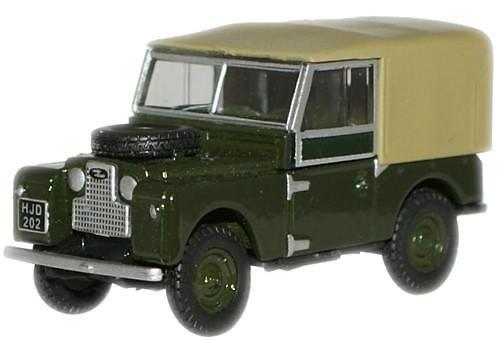 Land Rover 88 Techo Lona (1950) Oxford 76LAN188009 1/76