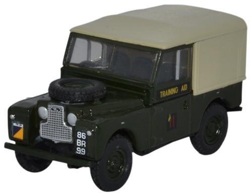 Land Rover 88 Techo Lona Ejercito Británico (1950) Oxford 76LAN188022 1/76