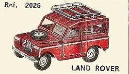 Land Rover Nacoral 2026 1/43