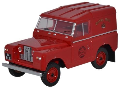 Land Rover Series II SWB Hard Back Royal Mail (1958) Oxford 43LR2S001 1/43