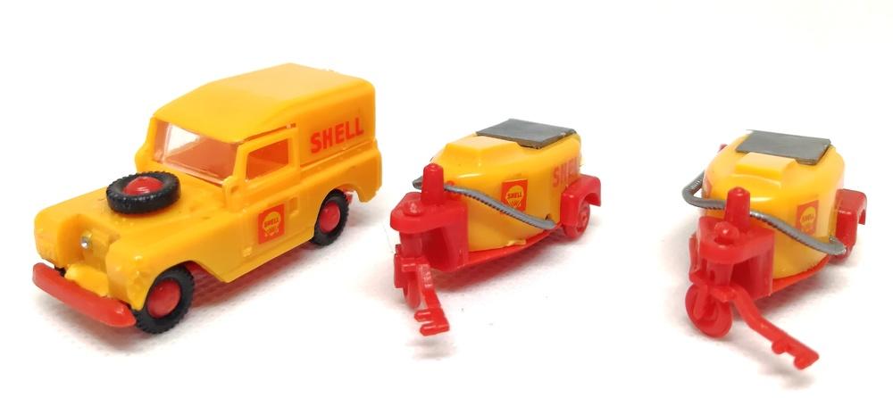 Land Rover Shell Aeropuertos Mini-Cars 1/86