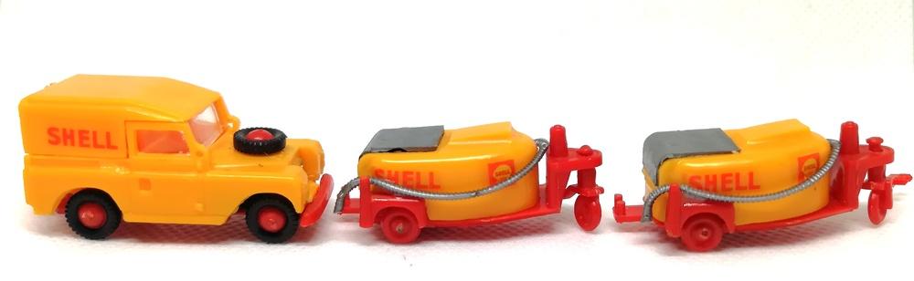 Land Rover Shell Aeropuertos Mini-Cars 113 1/86