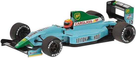 March Leyton House CG901 nº 15 Mauricio Gugelmin (1990) Minichamps 400900015 1/43