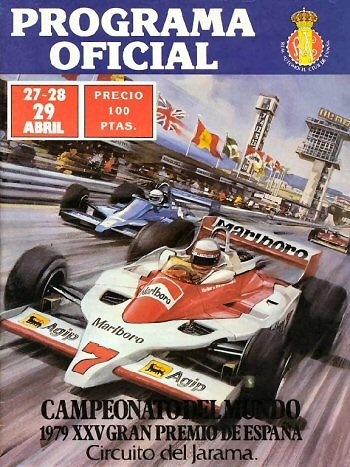 Poster GP. F1 España 1979