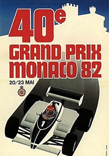 GP. F1 Mónaco 1982