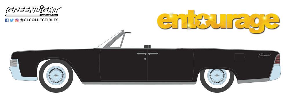 Lincoln Continental Convertible de 1965 Entourage (2004-2011 TV Series) Greenlight 44820D 1/64