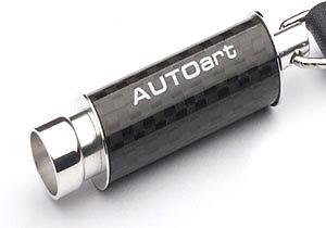 Llavero Tubo escape de fibra de carbono Autoart 40839