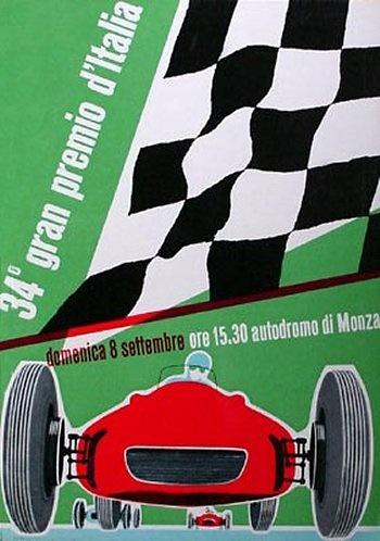 Poster del GP. de Italia de 1963