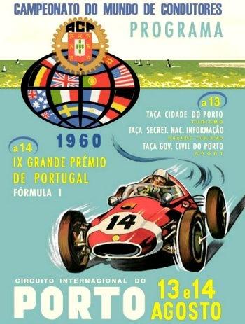 Poster del GP. de Portugal de 1960