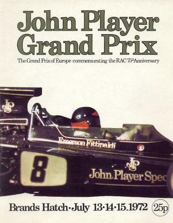 Poster del GP. F1 de Sudáfrica de 1972