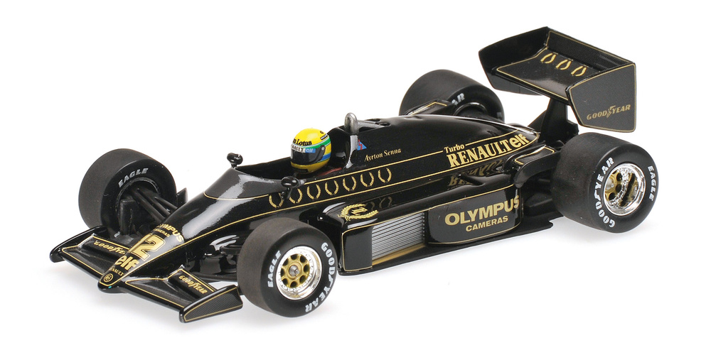 Lotus 97T nº 12 Ayrton Senna (1985) Minichamps 540854312 1:43