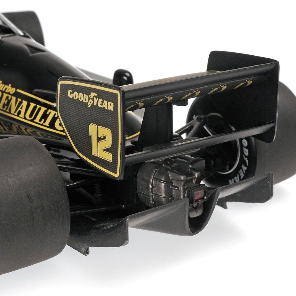 Lotus 97T nº 12 Ayrton Senna (1985) Minichamps 540851812 1/18