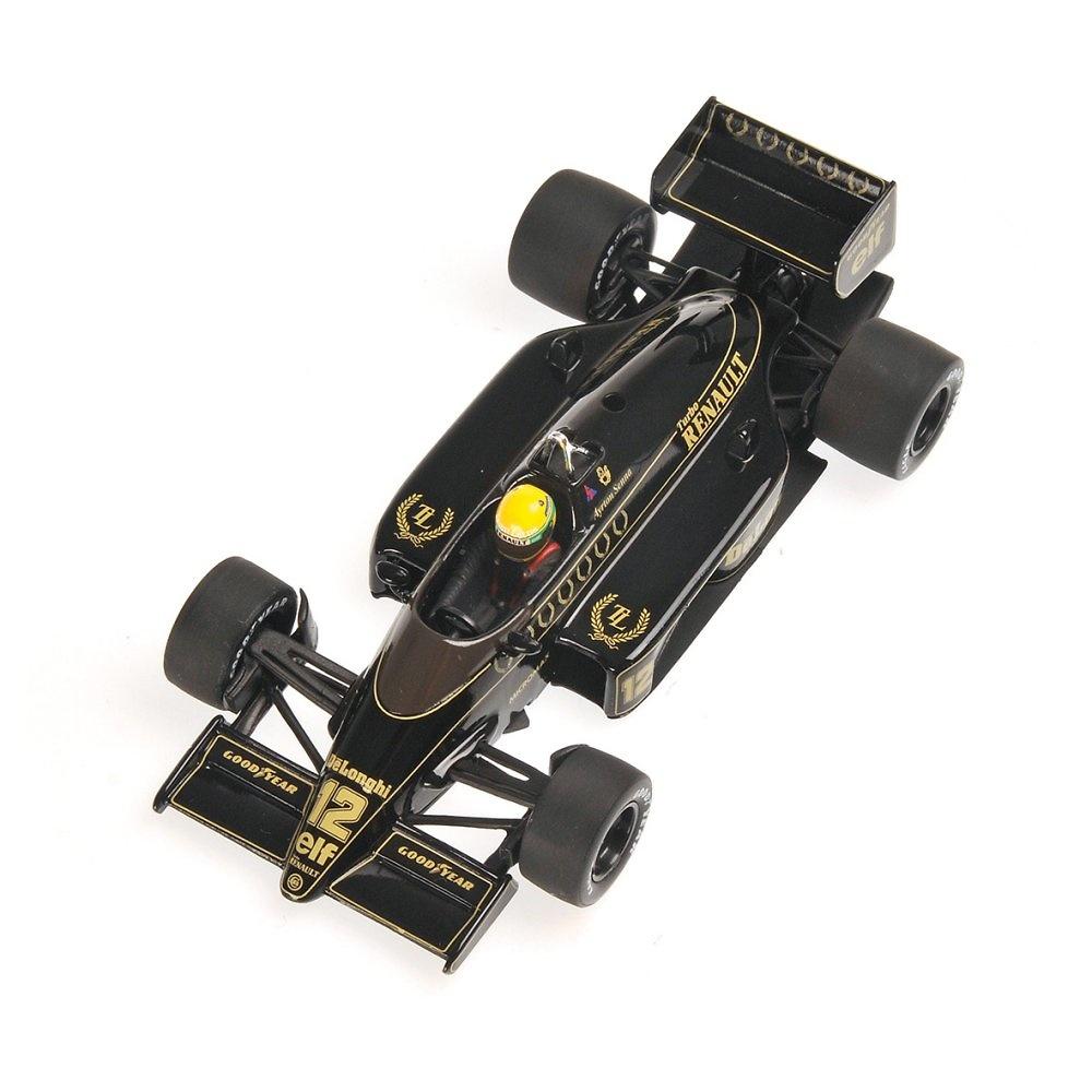 Lotus 98T nº 12 Ayrton Senna (1986) Minichamps 540864312 1:43