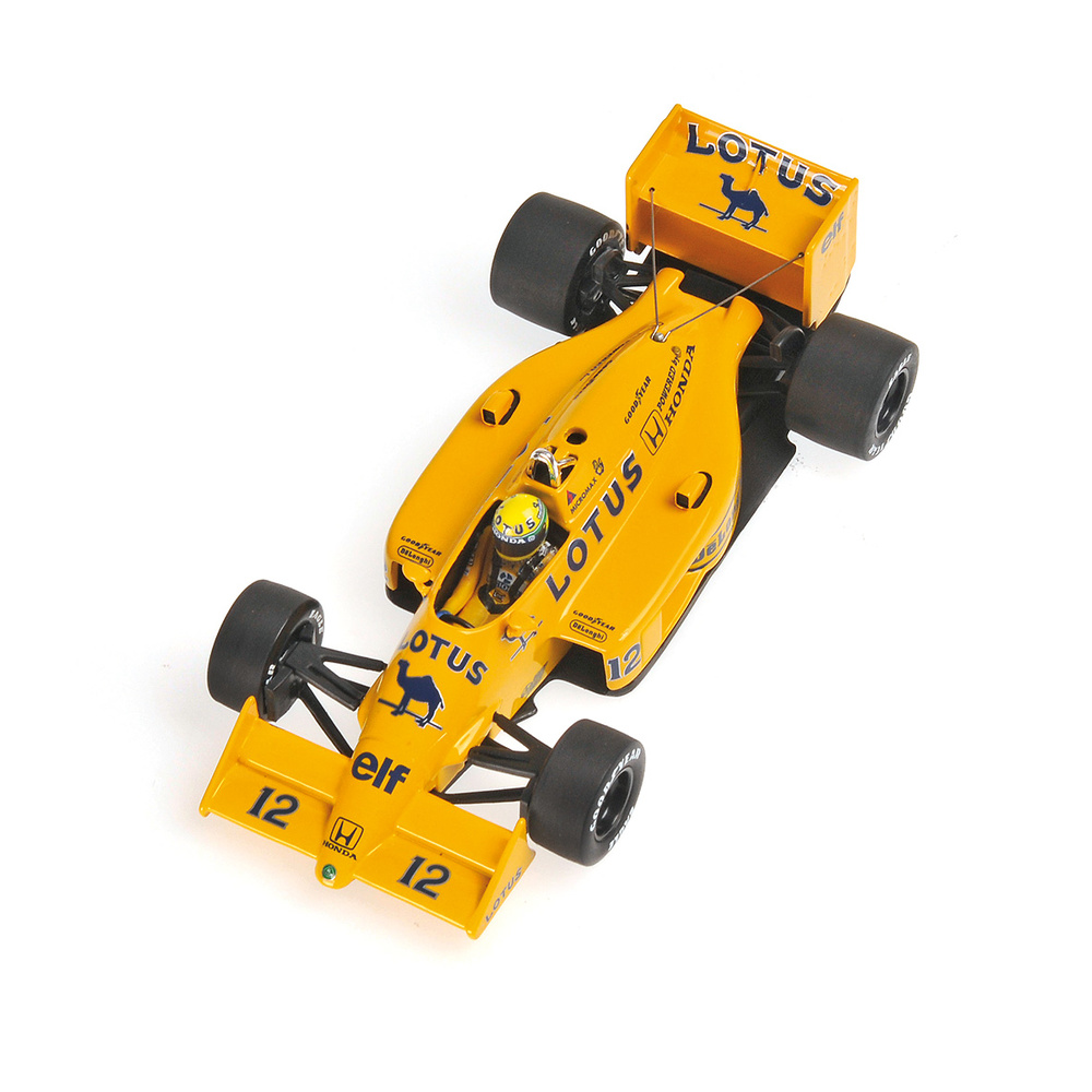Lotus 99T nº 12 Ayrton Senna (1987) Minichamps 540874312 1:43