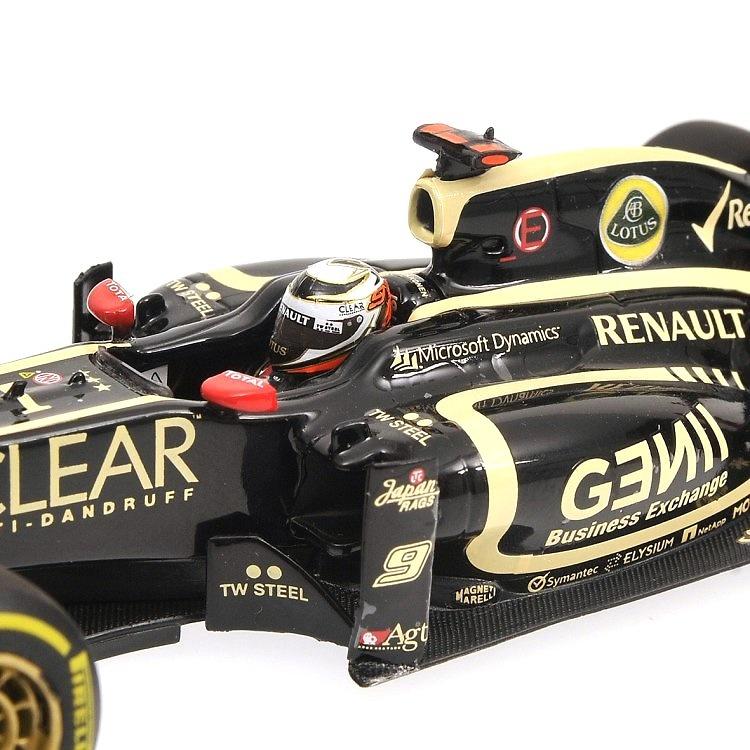 Lotus E20 nº 9 Kimi Raikkonen (2012) Minichamps 410120009 1/43