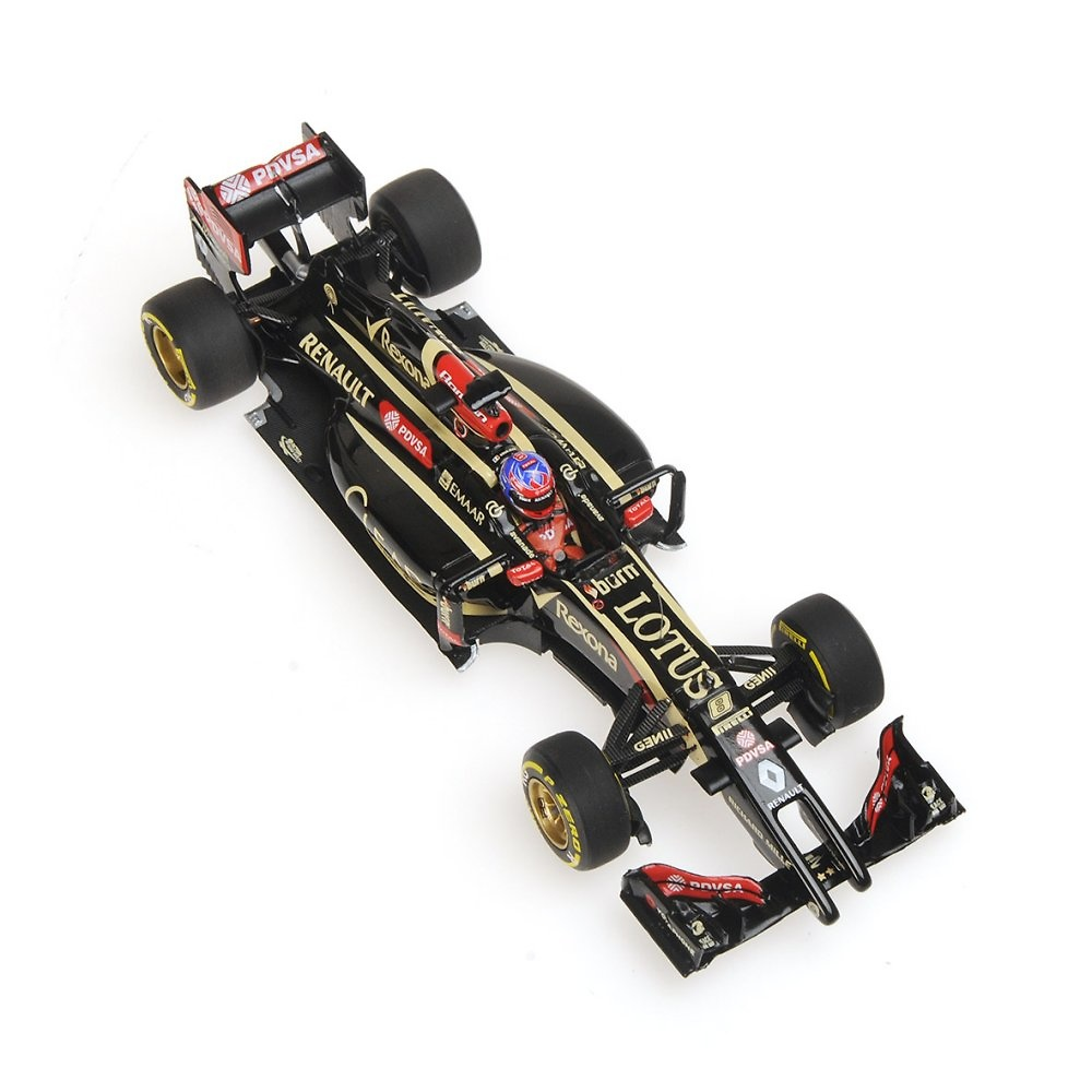 Lotus E22 nº 8 Romain Grosjean (2014) Minichamps 417140008 1:43