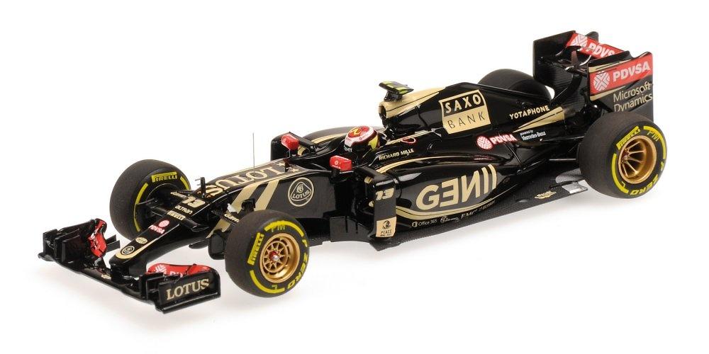 Lotus E23 nº 13 Pastor Maldonado (2015) Minichamps 417150013 1:43