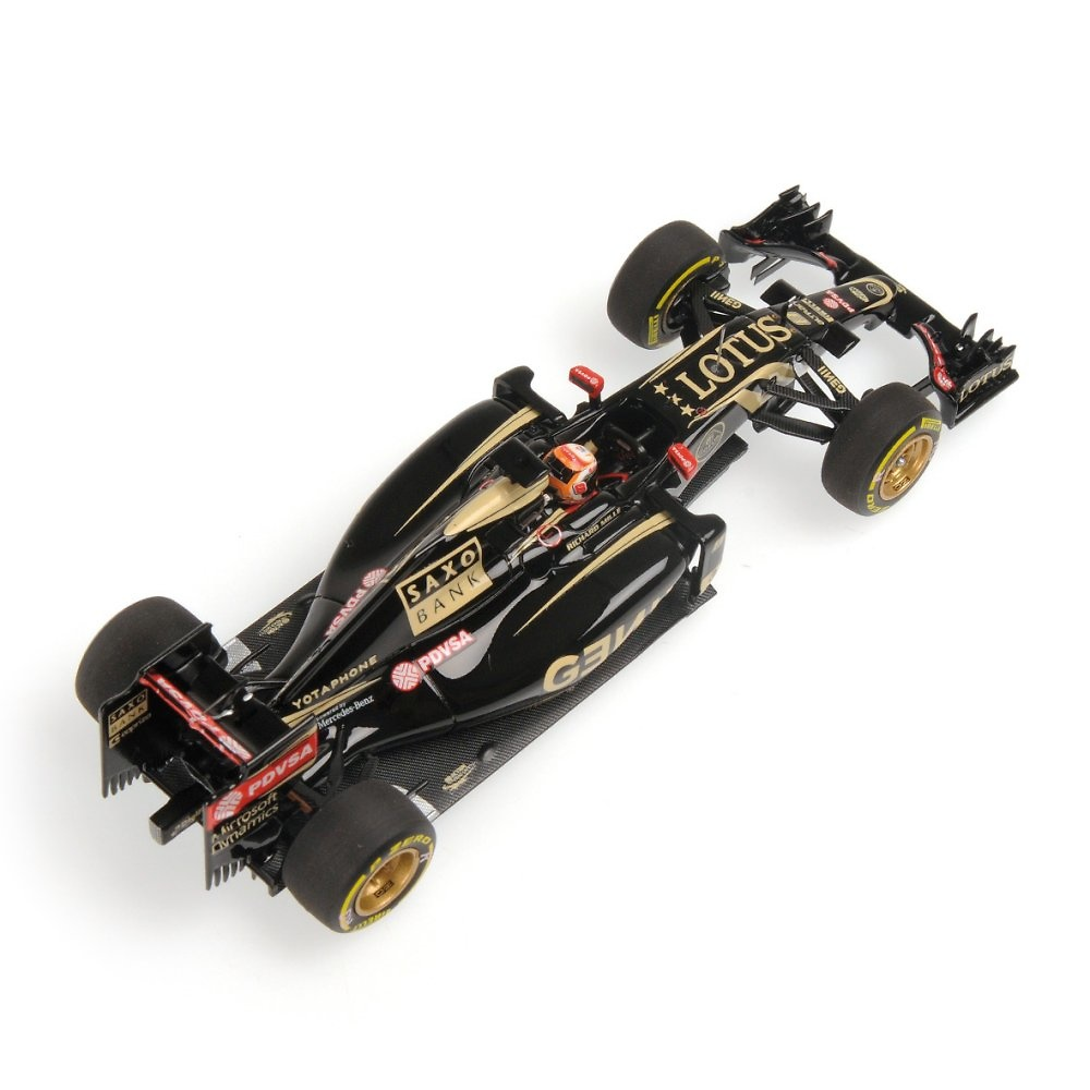 Lotus E23 nº 8 Romain Grosjean (2015) Minichamps 417150008 1:43