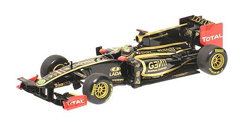 Lotus T128 nº 9 Nick Eidfeld (2011) Minichamps 410110179 1/43