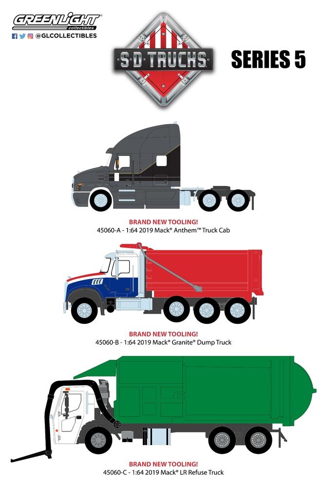 SD Trucks Serie 6 Greenlight 45060 1/64