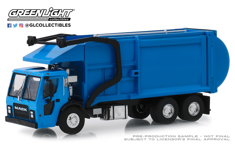 Mack LR camión de recogida de basura (2019) Greenlight 45070C 1/64