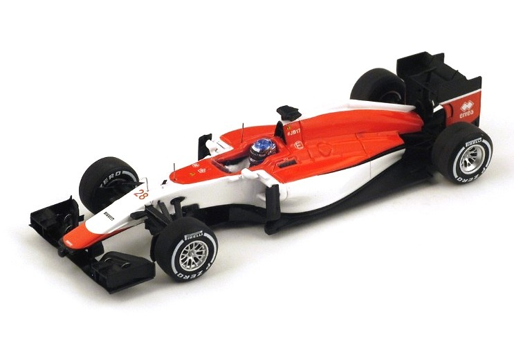 Manor Marussia MR03B n°28 Will Stevens (2015) Spark S4616 1:43