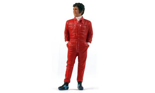Mario Andretti Figura Tipo I Team Lotus (1977) True Scale TSM12AC20 1/18